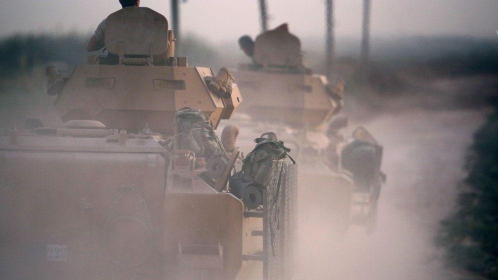 Foto: Operación militar turca en el norte de Siria. (EFE)