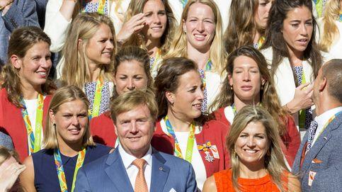 Los reyes de Holanda siguen mostrando su apoyo a sus olímpicos