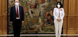 Post de Los looks de Darias e Iceta para prometer sus nuevos cargos