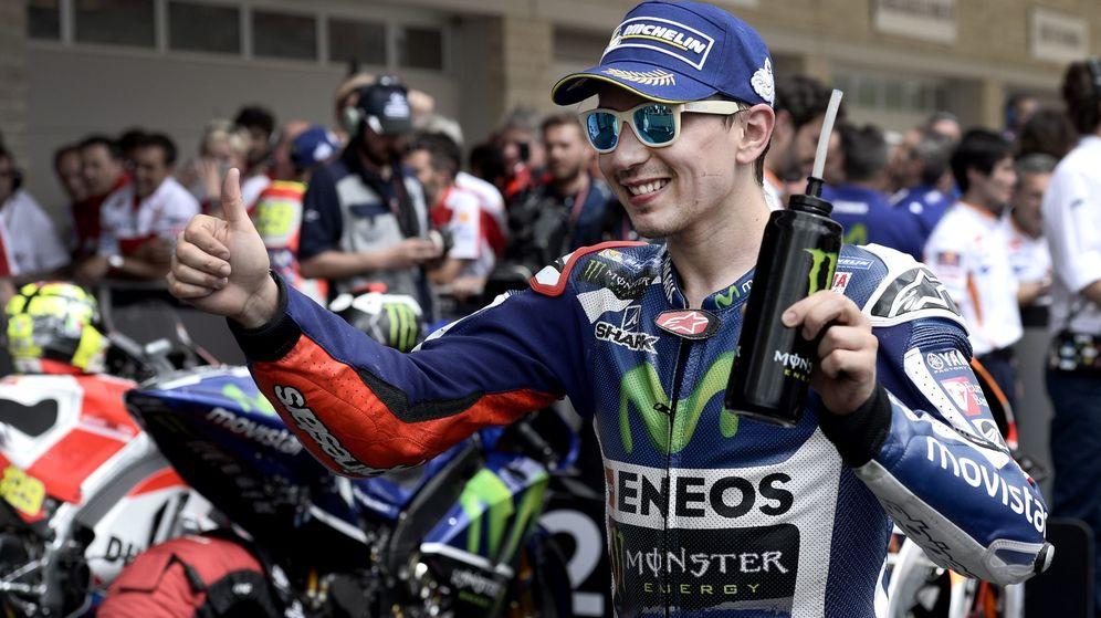 Foto: Jorge Lorenzo, en el Gran Premio de las Américas. (EFE)
