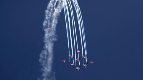 Espectáculo de la fuerza aérea india