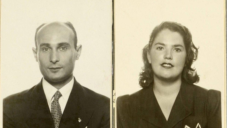 Juan Pujol Garbo y Araceli González. (Archivos Nacionales Ingleses)