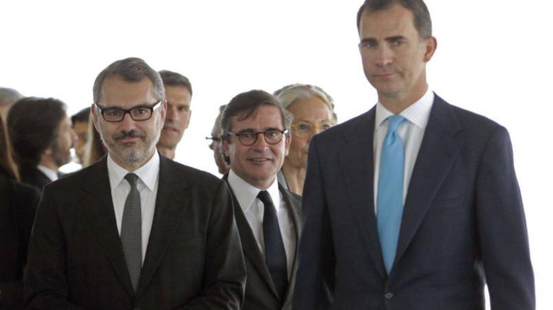 Marc Puig y el rey Felipe VI, en una imagen de archivo. (EFE)