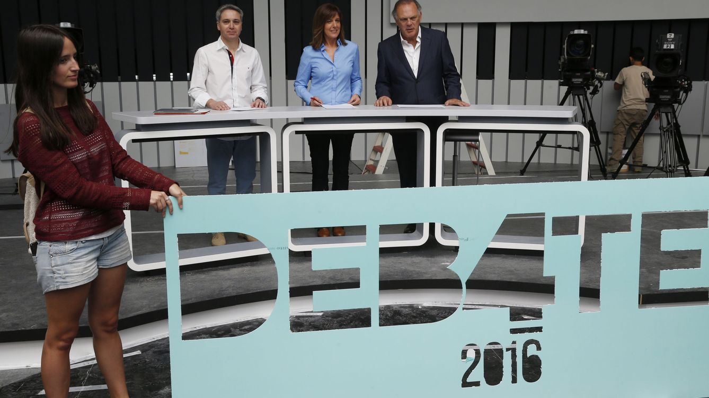 Blanco y Vallés de moderadores, 700.000 € de coste: los últimos datos del debate del 4-N