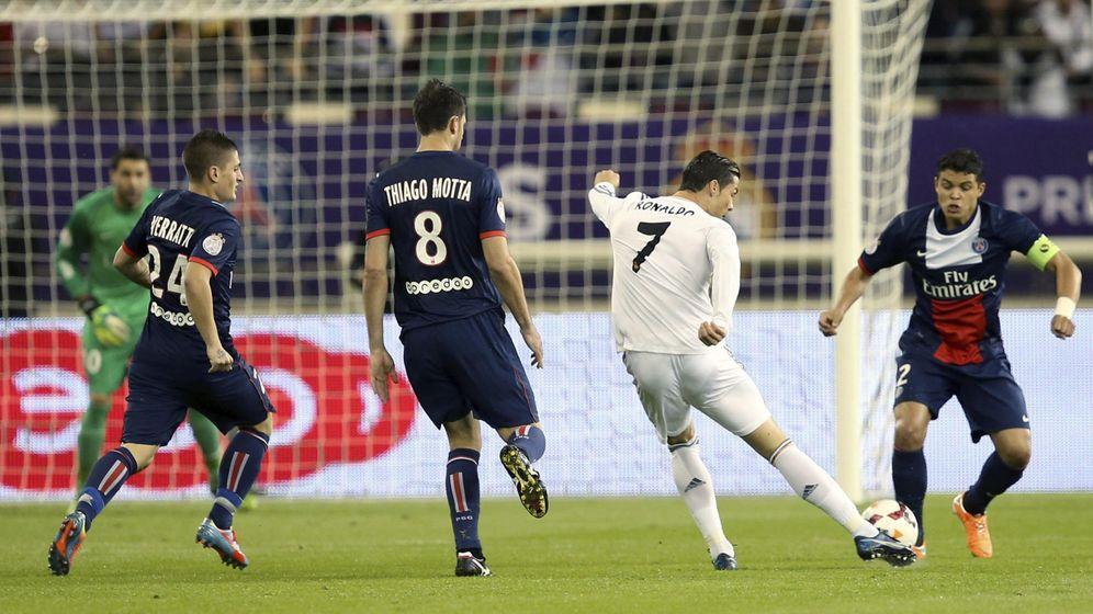 Foto: Hace casi un año, el Real Madrid ganó por 1-0 al PSG en Doha (EFE)