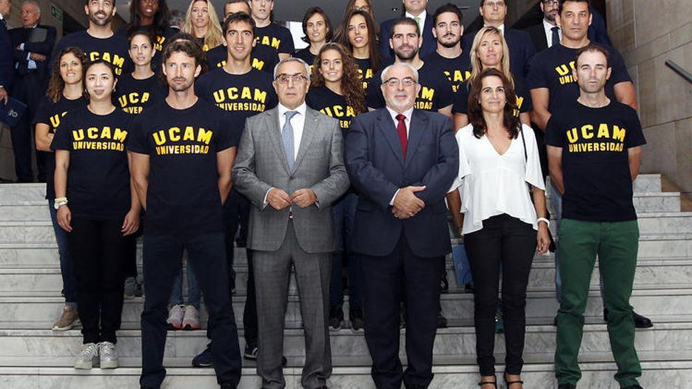 El proyecto formativo COE-UCAM ficha a 21 nuevos deportistas de alto nivel