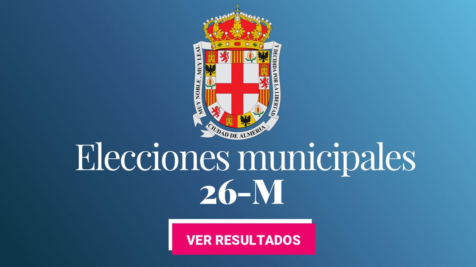 Foto: Elecciones municipales 2019 en Almería. (C.C./EC)