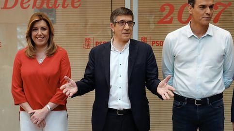 Díaz, Sánchez y López debaten en Ferraz a seis días de las primarias del PSOE