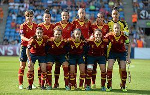 La selección femenina sub-19 se quedó a un paso de reinar en Europa