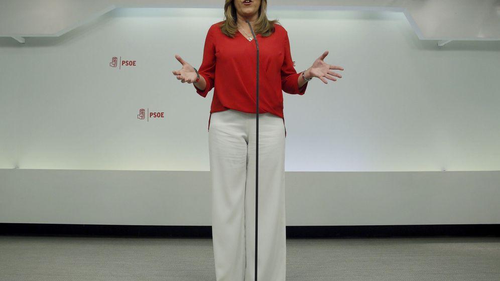 Foto: La presidenta de Andalucía y candidata a presidir la Junta de nuevo, Susana Díaz. (EFE)