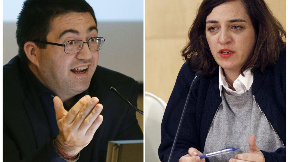 Foto: Fotografías de archivo de los concejales del equipo de Gobierno de Manuela Carmena Carlos Sánchez Mato y Celia Mayer. (EFE)
