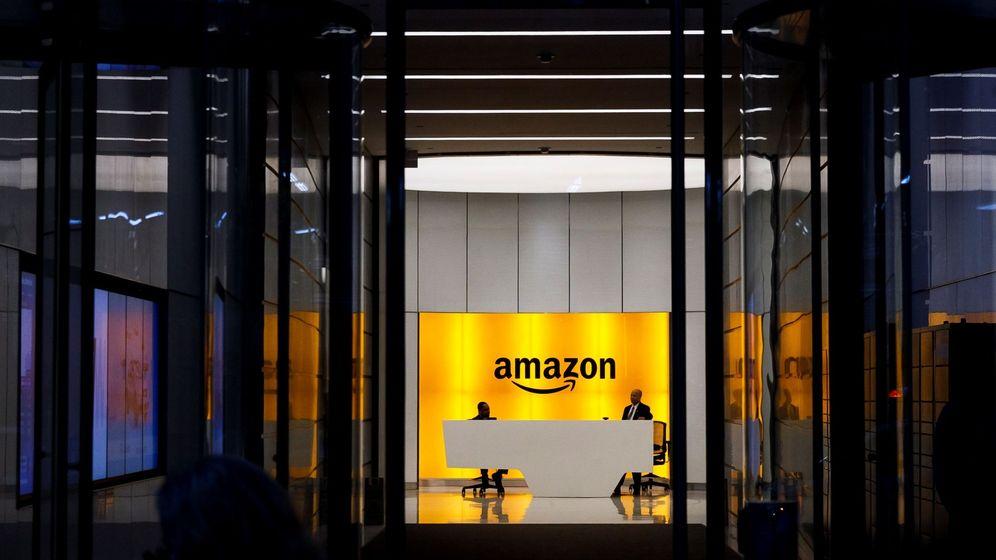Foto: Oficinas de Amazon en Nueva York.