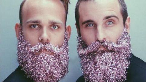 #Glitterbeard: la moda navideña de pintarse la barba con purpurina