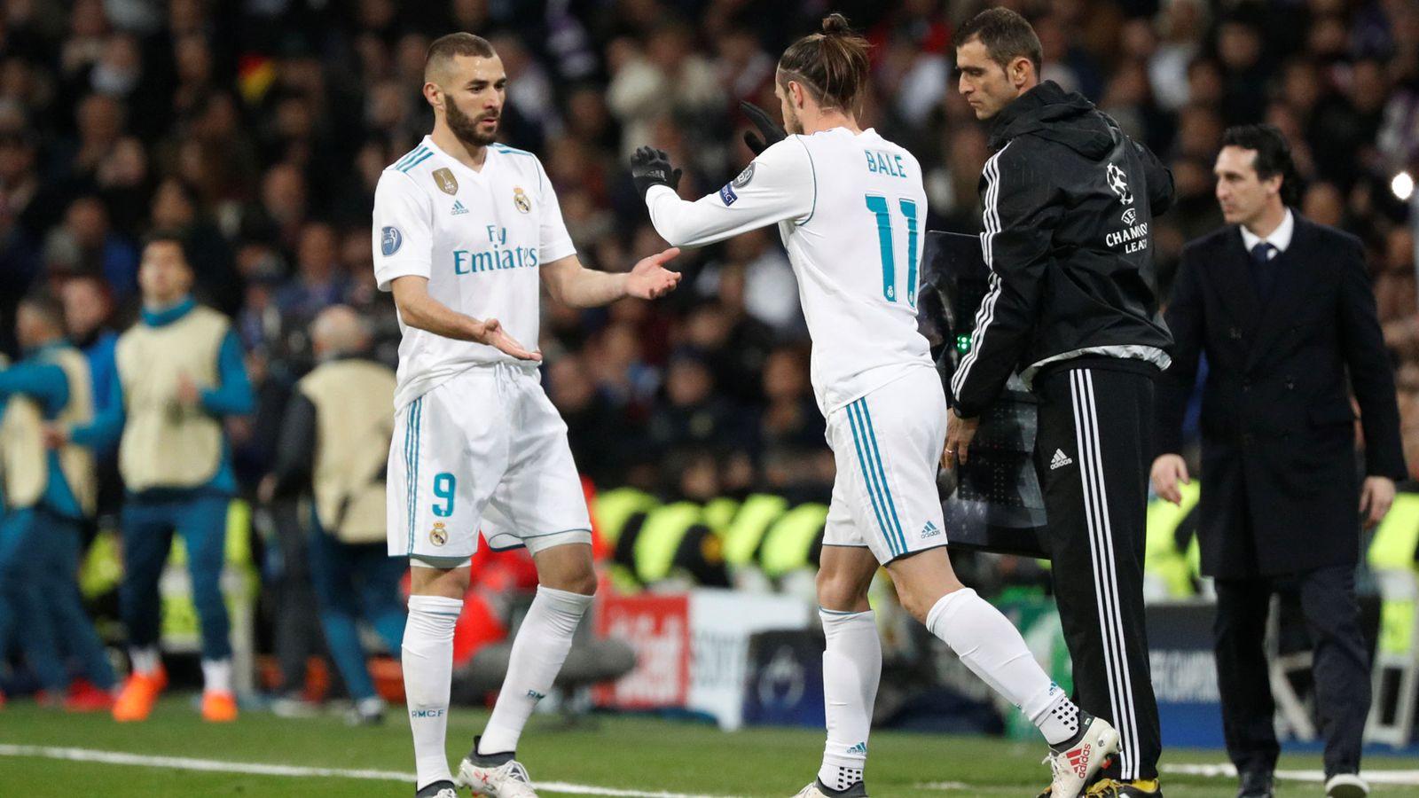 Foto: Bale fue suplente el pasado miércoles en el partido de Champions contra el PSG. (Reuters)
