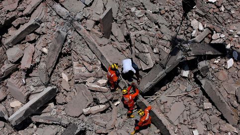 Tres muertos en un derrumbe en India