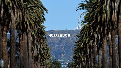 Un bromista cambia el letrero de Hollywood para celebrar la legalización de la marihuana