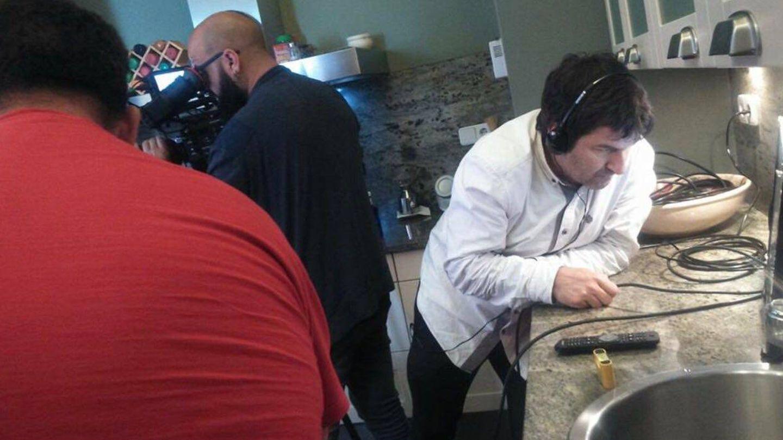 La realización de 'Mi casa es la tuya' durante una grabación.