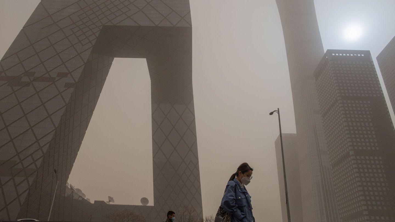 Contaminación en Pekín. (EFE)