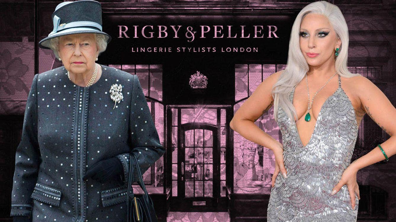 Foto: Isabel II y Lady Gaga, en un montaje realizado por 'Vanitatis'