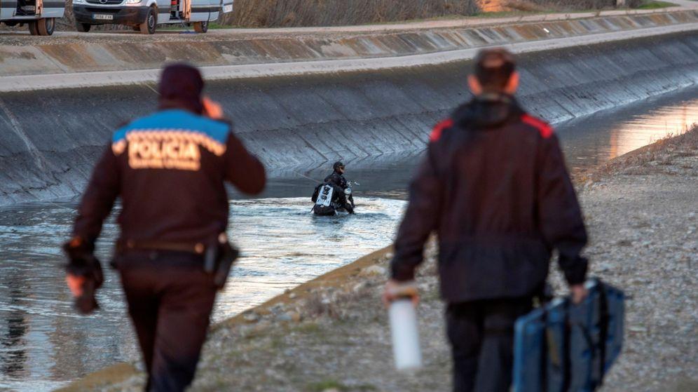 Foto: Hallan muerta en su vehículo en un canal a la mujer desaparecida en Lleida. (EFE)