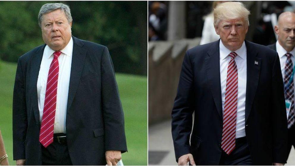 El asombroso parecido entre Donald Trump y su suegro, el padre de Melania