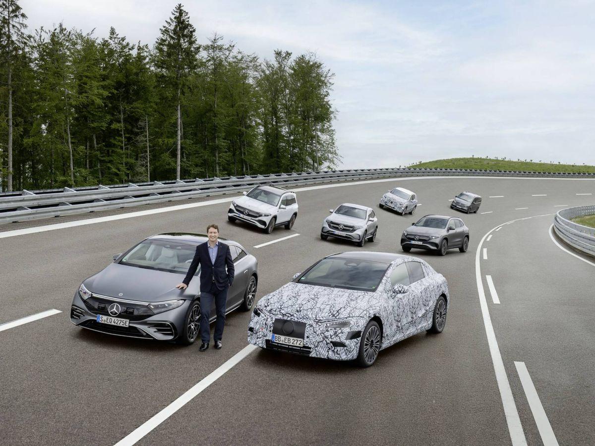 Foto: La gama eléctrica de Mercedes-Benz cuenta ya con los EQA, EQB y EQC, con el monovolumen EQV y, desde hace días, con la berlina EQS de gran lujo.
