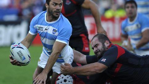 Argentina barre a Georgia y presenta su candidatura en el Mundial de rugby