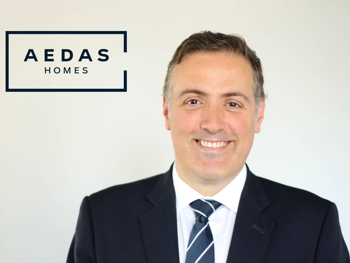 Foto: David Martínez, CEO de Aedas