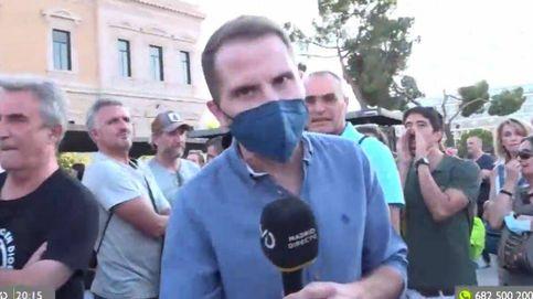 El enfrentamiento de un reportero de Telemadrid con un negacionista