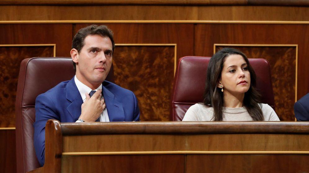 Foto: El líder de Ciudadanos Albert Rivera e Inés Arrimadas. (EFE)