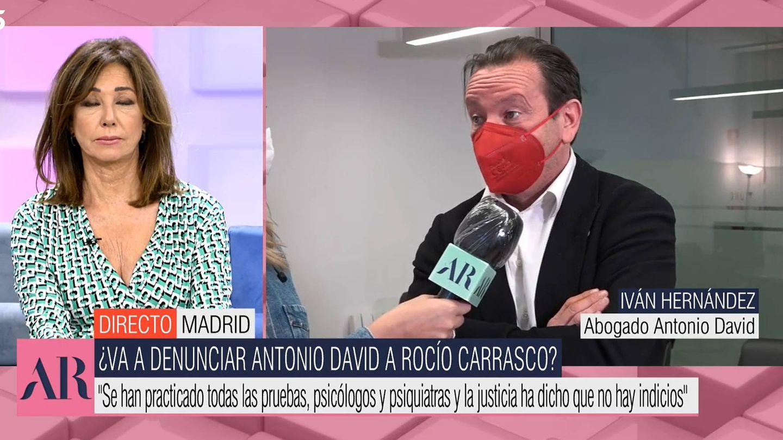 Iván Hernández, abogado de Antonio David Flores. (Mediaset)
