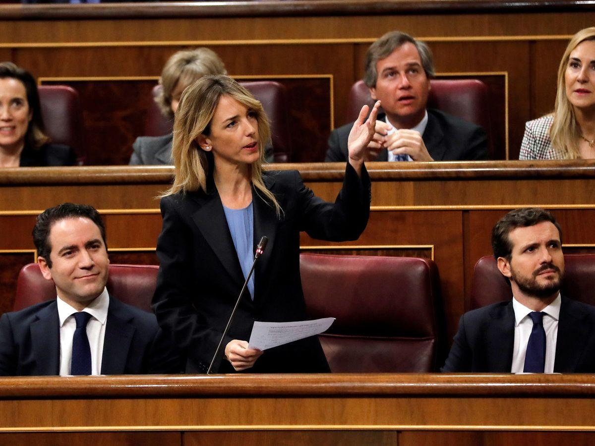 Foto: La bancada del Partido Popular en el Congreso. (EFE)