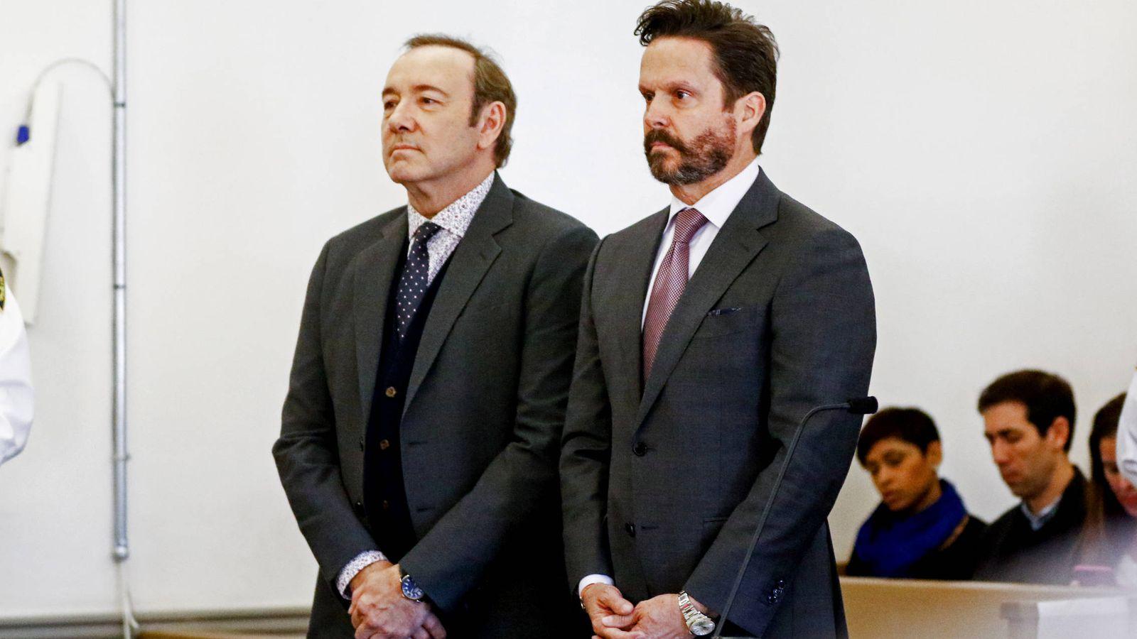 Foto: Kevin Spacey, durante el juicio. (Getty)
