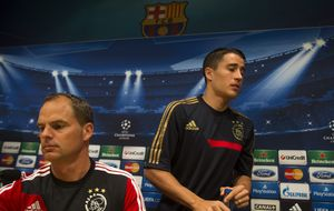 Bojan se cura en Amsterdam del 'traumático' trato de Guardiola