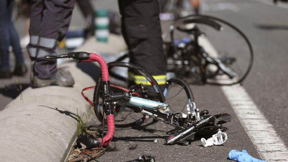 Foto: Bicicleta de un ciclista atropellado. (EFE)