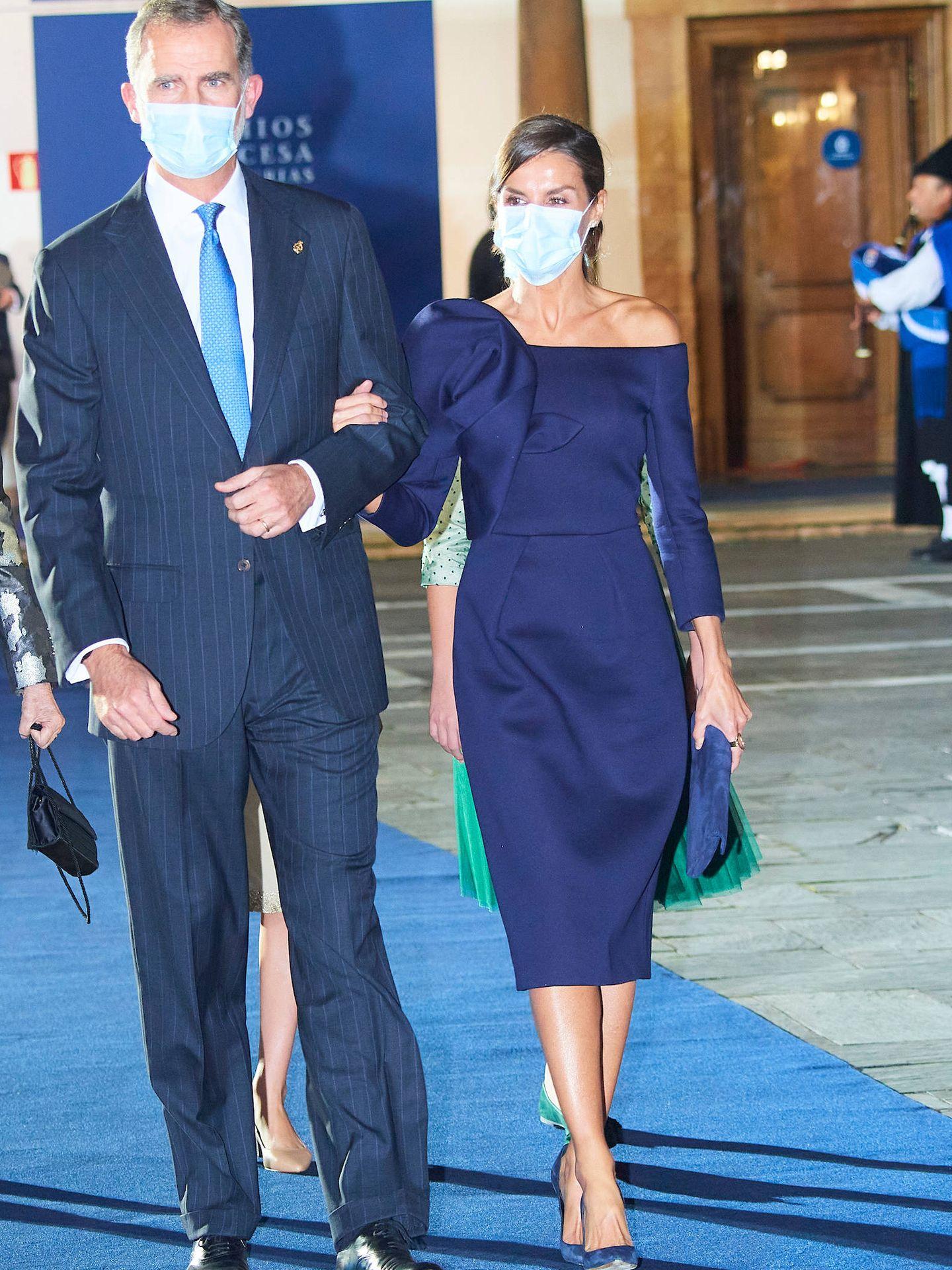 La reina Letizia. (LP)