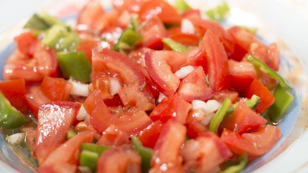 Al buen tiempo… ¡ensalada de pimientos rojos!