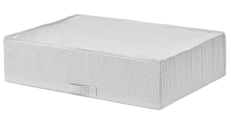 Caja Stuk de Ikea, ideal para almacenar bajo la cama. (Cortesía)
