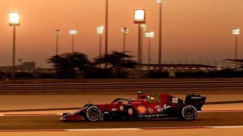 El pique de Carlos Sainz con Raikkonen y las señales (¿de humo?) de la mejoría de Ferrari