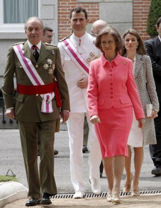 Foto: La Familia Real no recibe