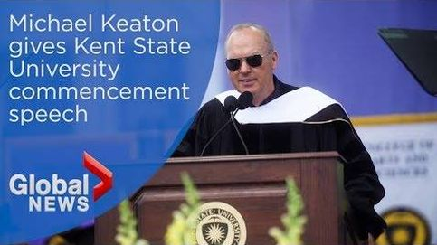 Soy Batman: el discurso viral del actor Michael Keaton en la Universidad de Kent State
