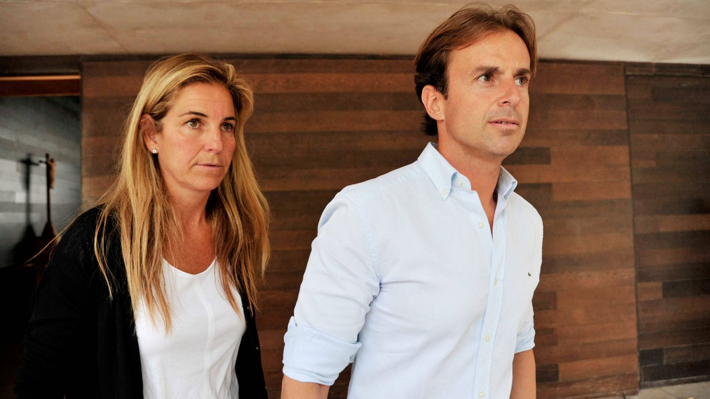 Arantxa Sánchez Vicario y con Josep Santacana, en una foto de archivo. (Gtres)
