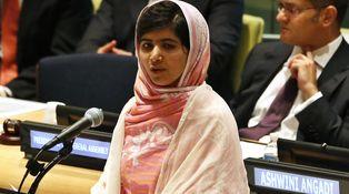 Malala, la niña a la que dispararon por ir al colegio