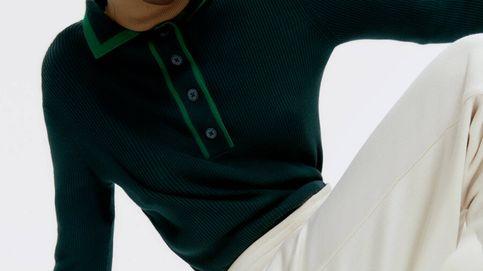 Advertencia: en breve este jersey con cuello polo de Uterqüe va a estar en los looks de las estilistas