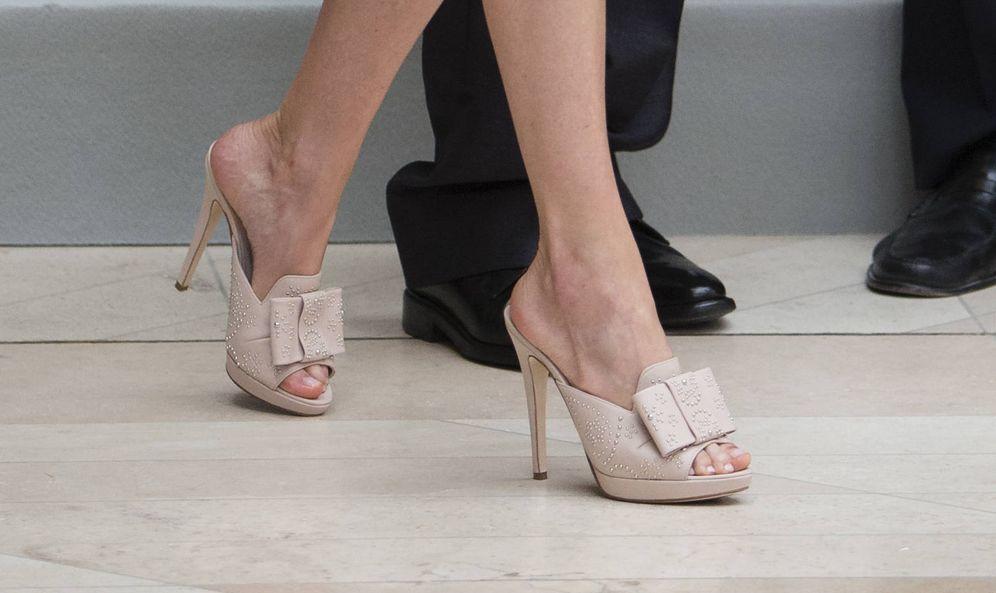 Foto: Un plano detalle de los zapatos. (Gtres)