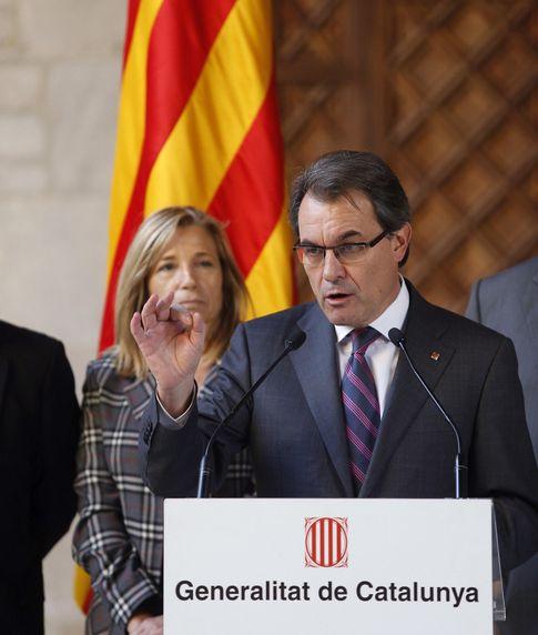 El presidente de la Generalitat, Artur Mas. (EFE)