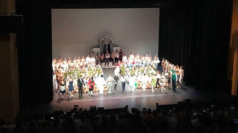 Festival de danza de la escuela de Víctor Ullate, dedicado a Peter Pan.