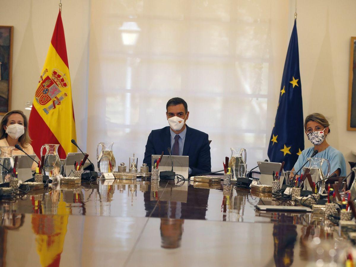 Foto: Consejo de ministros del gabinete de Pedro Sánchez. (EFE)