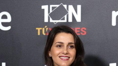 Inés Arrimadas, un look premamá (y una gran felicidad) para el debate a siete