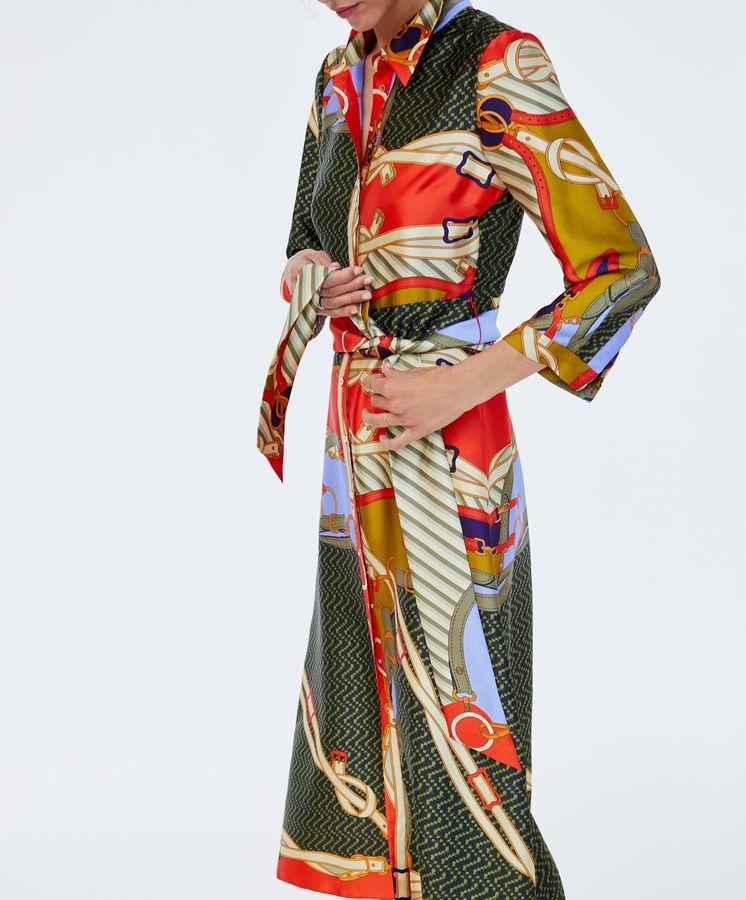 Foto: La túnica de Zara que eclipsó a Olivia Palermo. (Cortesía de la firma)